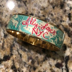 Lilly Pulitzer - Lilly loves NYC bangle. NWOT
